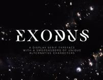 Free* Exodus – Free Typeface