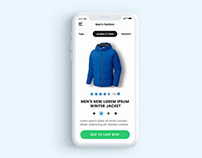 Online Shopping App / Product View Animation