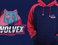 Wolvex e-Sports Branding