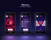 BUDWEISER // WE SPEAK MUSIC // INTERACTIVE TOOL