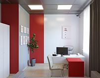 Дизайн проект офисов 2го отделения турфирмы jam travel