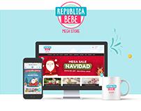República Bebé / Web