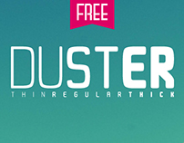 Duster [Free Font]