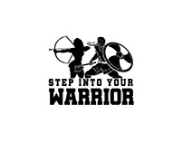 Step Into Your Warrior | Coach Logo