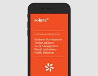 Solare - Logo and Identity