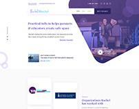 Motivational Speaker Single page website