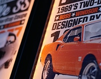 Retro Inspired Posters Set (Cars)