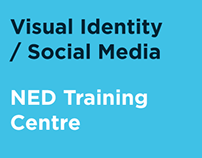 Visual Identity / Social Media - NED Training Centre