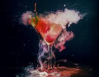 Cosmic drinks