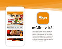 mGift App - Version 1/2