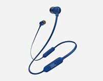 JBL Bluetooth headphones T110BT