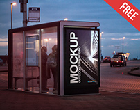 Outdoor Advertising – 2 Free PSD Mockups