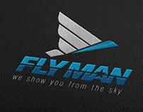 FlyMan - Brand Design by Michel Guerrero