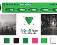 Project #3 (Nav. Button Design)