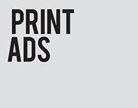 Some print ads - 2012