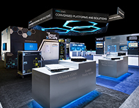 Dell EMC Trade Show Booth at EMC World 2017