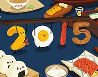 gif-illustration of the Chopsticks Festival for food