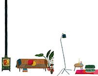 Illustrations for Elle Decoration