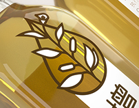 增桂 Sesame oil package design & 3D viz