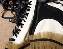 Corset with Suspender Straps & Bodysuit