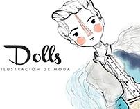 Dolls, ilustración de moda