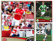 Topps KICK Cards 2014/2015