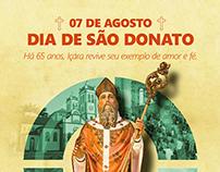 Anúncio Dia de São Donato