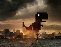 Dinosaurio Google Chrome