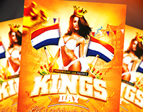 King's Day / KoningsDag Flyer Template (.psd)