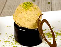 Fotografía para catálogo de helados de la marca Alemany