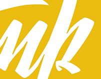 Woodstamp // Logo lettering
