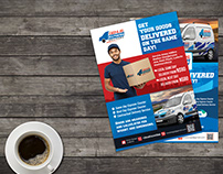 DELIVERY SERVICE FLYER DESIGN