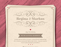 Wedding Invitations & Business Cards for Freepik
