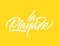 Lettering Logotype / Playlist Website