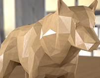 Animals wood
