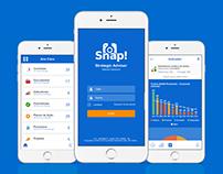 Proposta de redesign de interface para o SA-Snap!