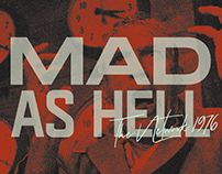 MAD AS HELL | Kinetic Typography