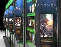 Retail Displays: Xbox Fabric Tube Display (COPY)