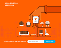 Sigma Sourcing Web Design