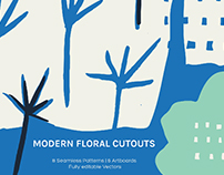 Modern Floral Cutouts | Packaging Design