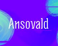 Ansovald | Display font