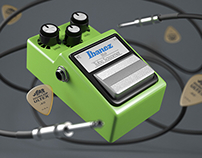 Ibanez Tube Screamer CGI