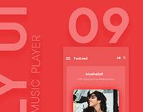 Daily UI 009 Music Player