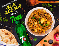 7UP - Photography & Social Media designs