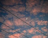 moon@sunset