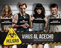 Virus al acecho