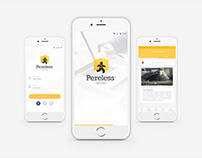 Pereless App UI/X Design