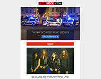 TeamRock - HTML Email Template