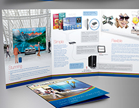 Userful Trifold Letter Brochure