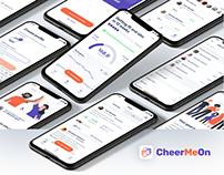 CheerMeOn Design Process